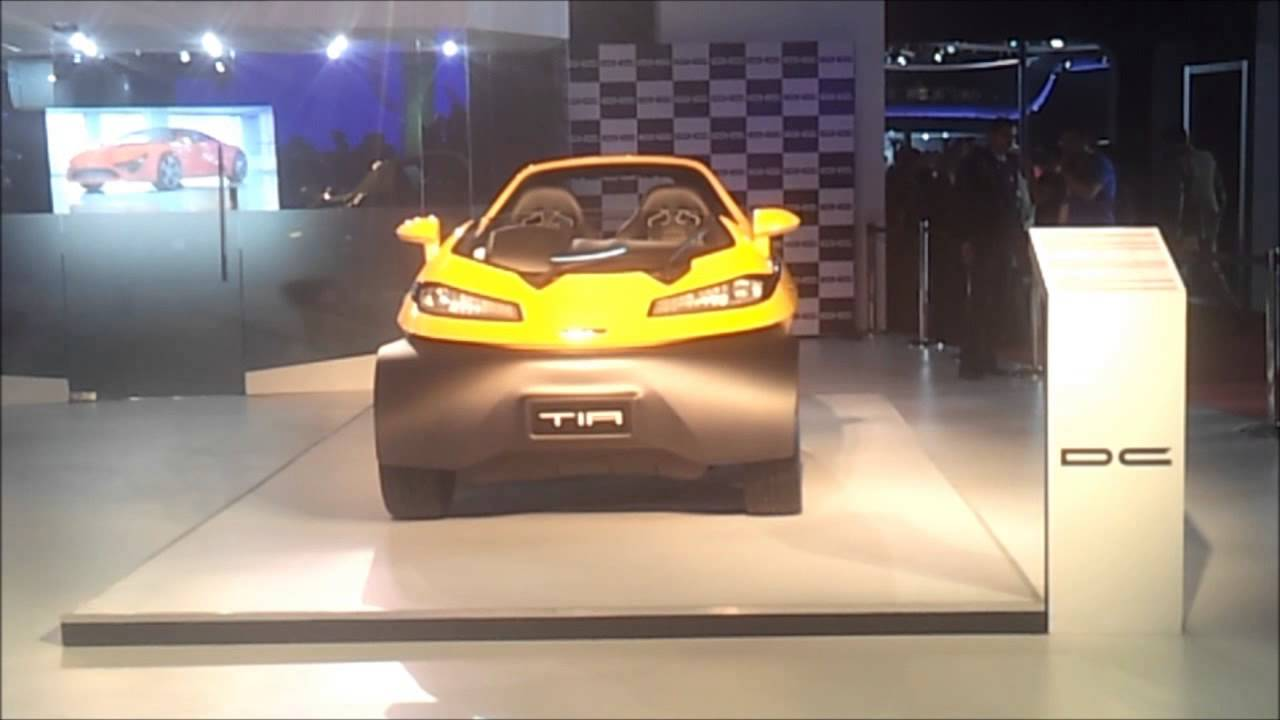 Dc Design Tia Eleron Auto Expo 2014 Delhi Youtube