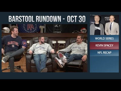 Barstool Rundown - October 30, 2017