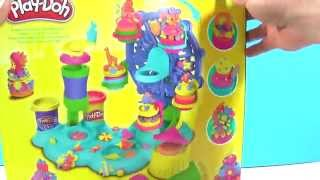 Play Doh Cupcakes Celebration Ferris Wheel - Play Dough Fiesta de Tortas - Carrousel des Gâteaux