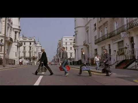 Abbey Road scene from Trainspotting 1996