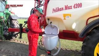 PELIKAN MAX - opryskiwacze polowe zaczepiane firmy BURY Maszyny Rolnicze