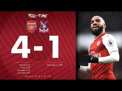 Download Arsenal vs Crystal Palace 4-1 All Goals & Highlights 20_01_2018