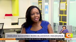 HER SAY |Adelide Adhiambo runs bluewave insurance for low income earners