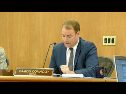 Damon Connolly honors Ray Day