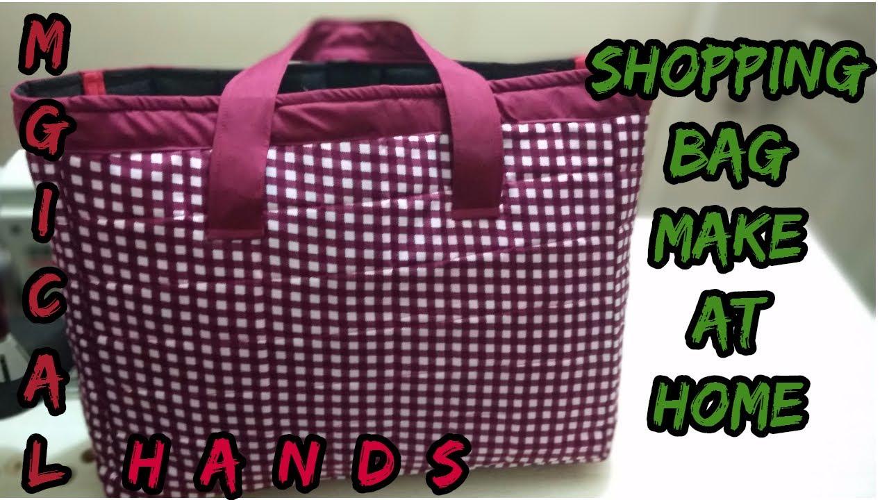 0a207aa00d ... cheap for discount c051e ece16 shopping bag make at homehow to make  shopping bag at home ...
