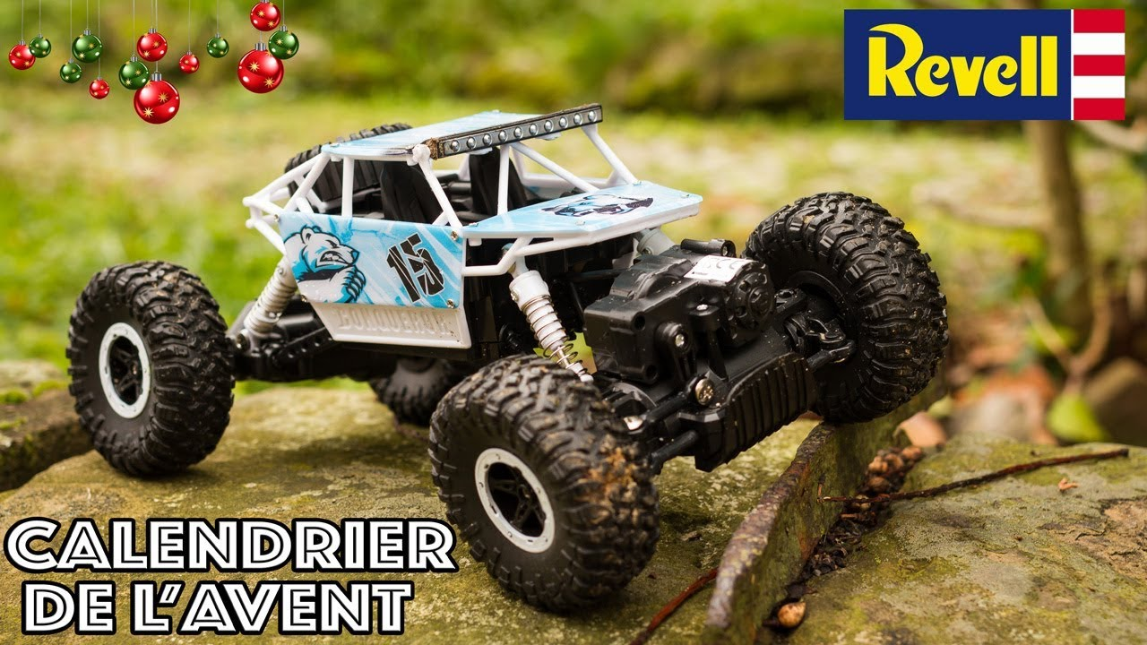 Calendrier De L Avent Voiture.Advent Calendar Revell Control 4x4 Buggy Remote Controlled Cars To Build Toy Review