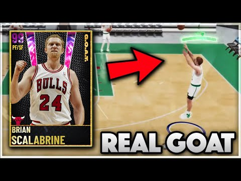 the real goat card in nba 2k21 myteam... |