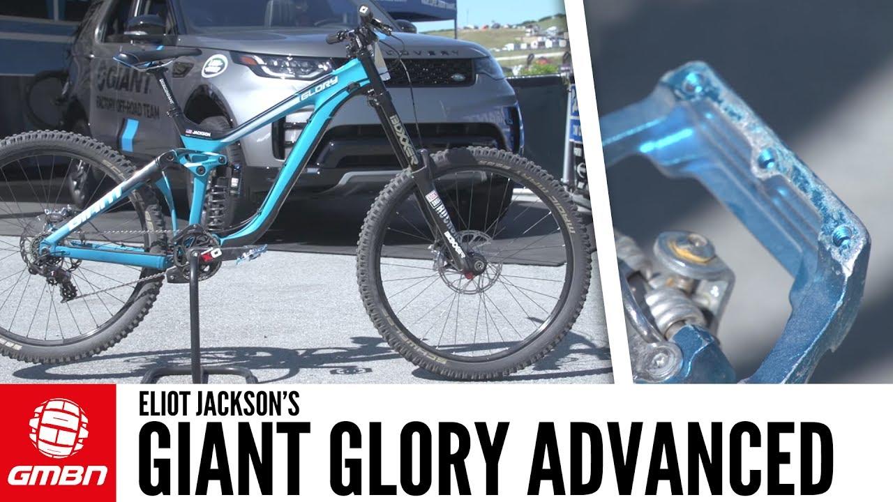 eb831bb8bad Eliot Jackson's Giant Glory Advanced | GMBN Pro Bikes - YouTube