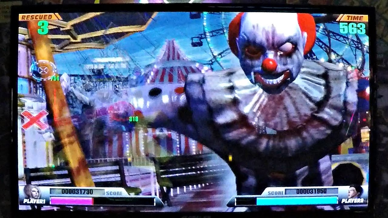 FrightFearLand Deluxe Arcade Game: Battling Crazy Circus Clowns
