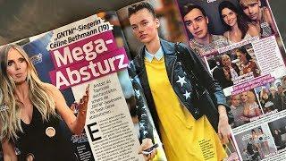 GNTM 2017 Schlagzeilen: Mega Absturz von Céline!?