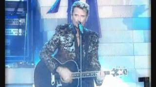 Johnny Hallyday - Quelque chose de Tennessee - Tour Eiffel 2000