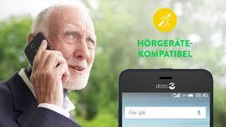 Produktvideo zu Doro 8035 Blau/Schwarz Smartphone für Senioren