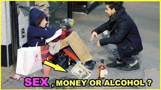 Fuck for cash Homeless girls