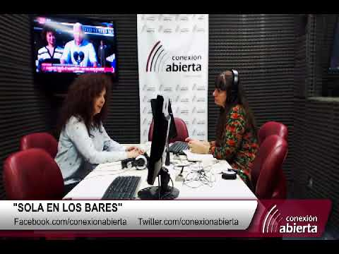 """Patricia Palmer en  """"Sola en los bares"""" 01-09-17 /- Radio Conexion Abierta"""