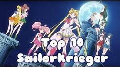 Meine Top 10 Sailorkrieger unseres Sonnensystems