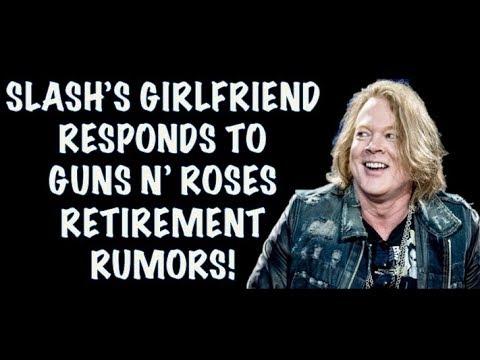 Guns N' Roses News: Slash's Girlfriend Meegan Hodges Comments on GNR Retirement Rumors