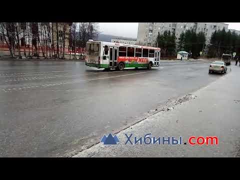 Кандалакша гололед автобус