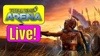 SIPPIN TEA AND CONQUERING BASES! TOTAL WAR ARENA LIVE | Road to Total War: Three Kingdoms