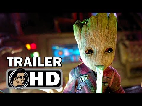 GUARDIANS OF THE GALAXY VOL. 2 Official Blu-Ray Trailer (2017) Baby Groot Marvel Movie HD