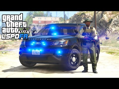 GTA 5 - LSPDFR Ep452 - Unmarked Sheriff Explorer!!
