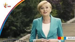 Agata Kornhauser-Duda, die Gattin des polnischen Präsidenten, lädt zum Weltjugendtag in Krakau ein