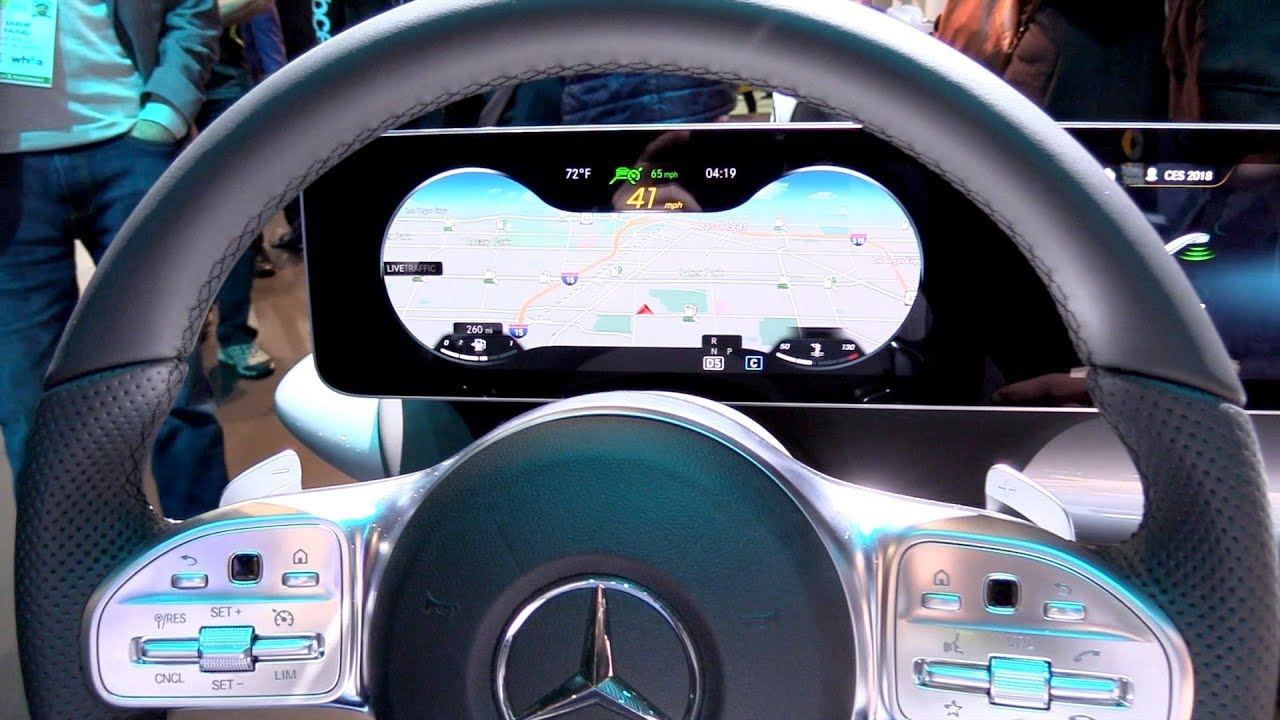 MBUX - New infotainment system of Mercedes-Benz EXPLAINED ...