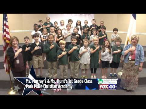Park Place Christian Academy - Ms. Murray & Hunt's 1st Grade Class
