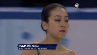 MAO ASADA Sochi Olympic 2014 FS (NBC)
