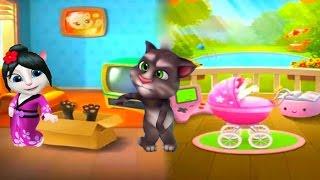 Мой ГОВОРЯЩИЙ ТОМ #156 Весёлое видео  Мой виртуальный питомец   ИГРА МУЛЬТИК для детей #УШАСТИК KIDS