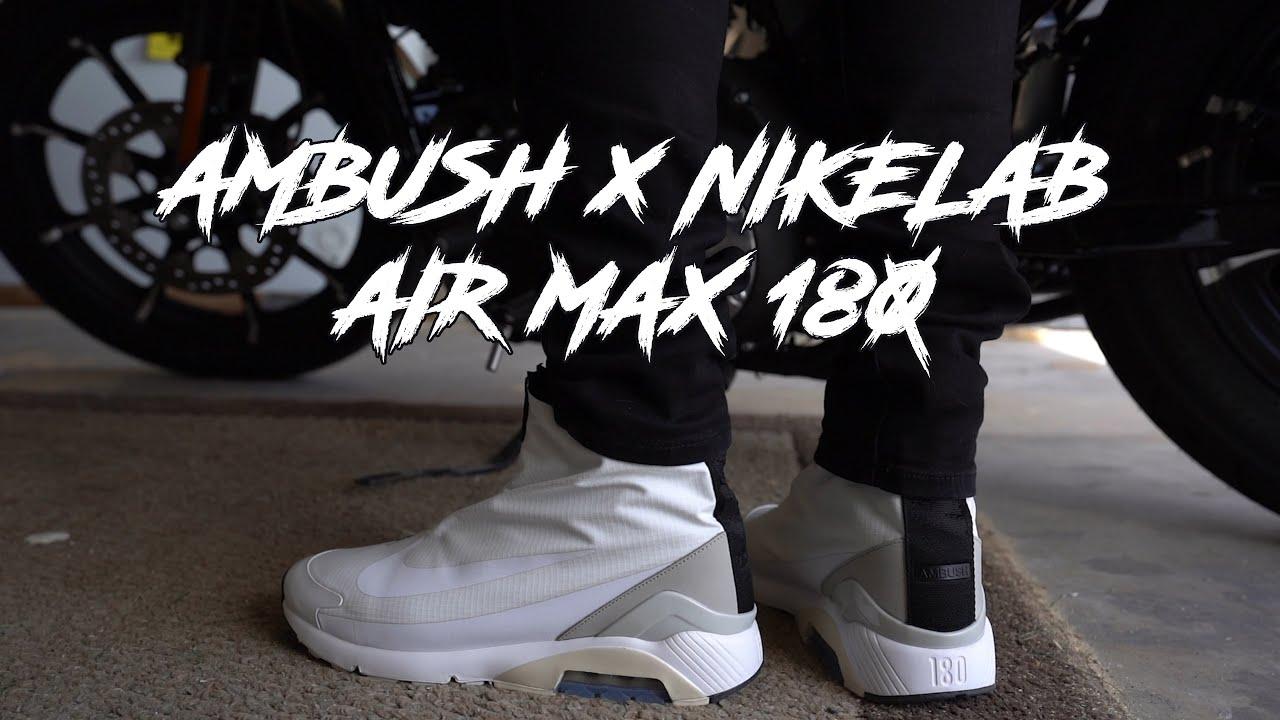 Ambush x Nike Air Max 180 White Review