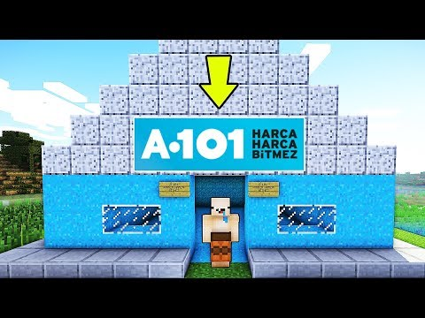 BALON BEBİŞLE A 101 YAPTIK !! 😱 - Minecraft