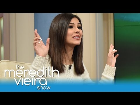 Victoria Justice Confronts Feud With Ariana Grande | The Meredith Vieira Show