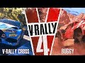 V-RALLY 4 | V-Rally Cross and Buggy