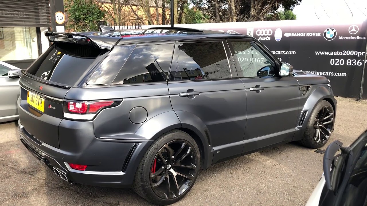 Range Rover svr grey Lumma kit for sale Auto 2000 enfield ...