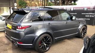 Range Rover svr grey Lumma kit for sale Auto 2000 enfield