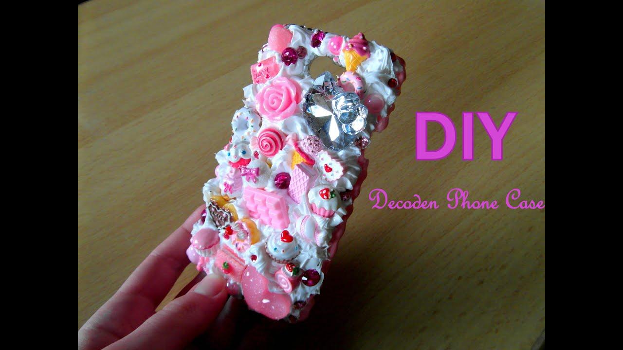 official photos 48e32 80f3e DIY Kawaii Decoden Phone Case / Tutorial