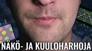 TÄMÄ VIDEO HUIJAA AIVOJASI #7 | näkö- ja kuuloharhoja