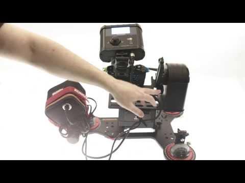 Konova Radial Dolly + Motion control with pan/tilt head