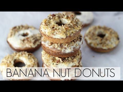 Healthy Choice Banana Nut Donuts