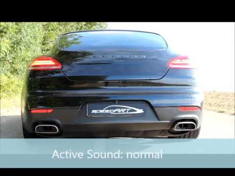 speedart active sound system sportauspuff f r porsche. Black Bedroom Furniture Sets. Home Design Ideas