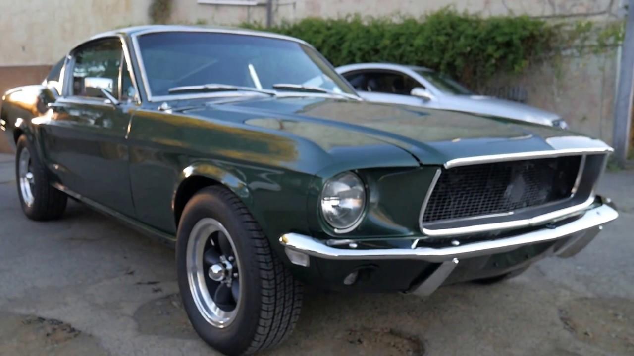 1968 ford mustang bullitt gt 390 4 speed fastback