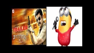 Saamy² Pudhu Metro Rail minion singing