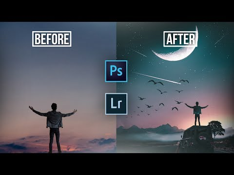 Photoshop speed edit  | How to make visual effect photoshop art