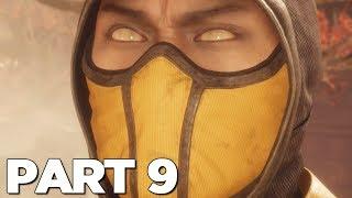 MORTAL KOMBAT 11 STORY MODE Walkthrough Gameplay Part 9 - SCORPION (MK11)
