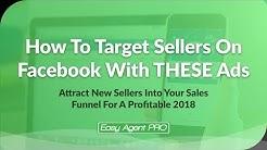 Target Sellers on Facebook (Steal These Strategies & Get Seller Leads)