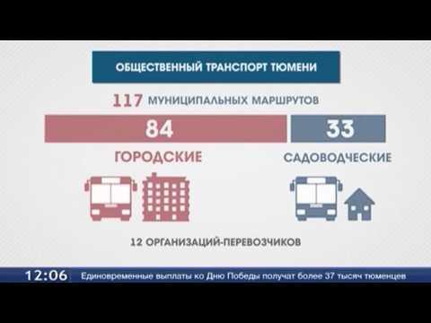 Общественный транспорт Тюмени «молодеет»