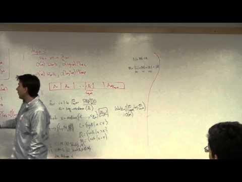Models of Computation for Massive Data L14