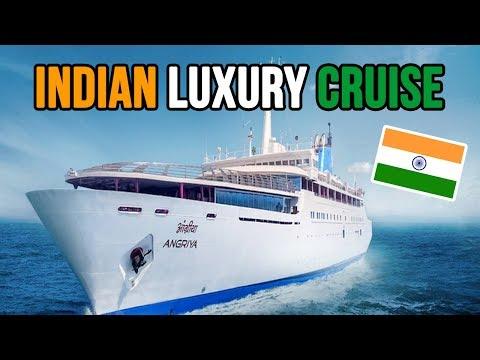Goa to Mumbai   Indian LUXURY ANGRIYA CRUISE   Part 1