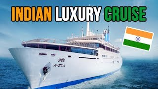 Goa to Mumbai | Indian LUXURY ANGRIYA CRUISE | Part 1