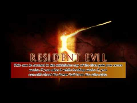 Resident Evil 5 BSAA Emblems Chapter 3-3 Oil Field-Drilling Facilities